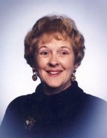 Jeanette Elaine Fitzsimmons obituary photo
