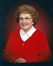 Mary F. Smith obituary photo