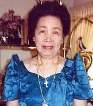 Magdalena Domingo Abdon obituary photo