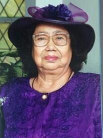 Domitila Jacobo obituary photo