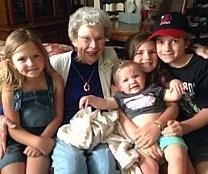 Patricia Patterson Myers obituary photo