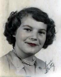 Betty Jane Leaf obituary photo