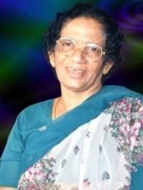 Annamma George obituary photo