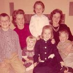 Auntie Jackie with her Sister Louise's children
