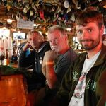 Mike, Dennis and Brendan Lamb at the Chico Saloon
