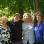 Susan, Grandson Seth, daughter Lucy, daughter Heidi