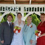 Grandson Seth, daughter Heidi, Susan, daughter Lucy