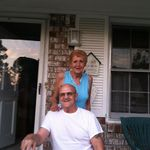 Milford & Rosie, happily married for 63 years.