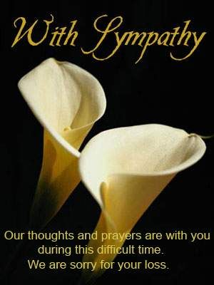 My thoughts and prayers are with you i pray the love of god