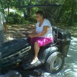Learning to drive the mower