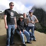 On top of Matchupichu, Peru