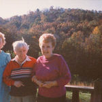 Mother and her sisters in North Carolina: Grace, Charlotte, and Mother. This dates back to the late 70s.