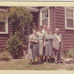 Aunt Irene, Mom, Uncle Ray, Memere & Pepere