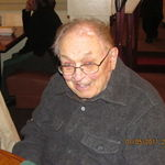 Grandpa at Olive Garden