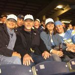 With Susannah and Devlin at Chargers' game