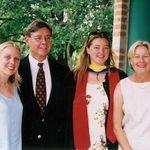 Susannah's graduation from RIce University May, 2000