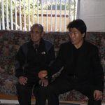 Master Jungoh Lee with Master Eung Koo Lee