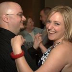 Craig and I dancing at his and Sarah's reception.