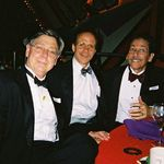 Wylie, Rusty, and Ron at the SD Zoo Gala with the Hixsons