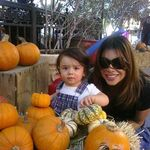 Pumpkin Patch - Mommie and Baby O