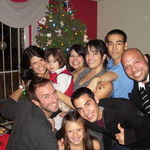 Xmas 2010..cousins and Uncle Joey and Daddy