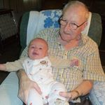 Grandpa Shull and his great grandson
