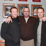 Tyler, Gary & Eric at Gary's Wall of Fame Induction.