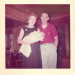 Byron with Margret holding Patty -  1963.