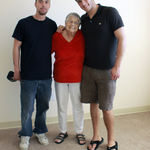Chris, Grandma, Stephen