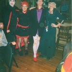 Barry Hepburn,Beth O'Connell,David Tompkins,Susan Moody. Halloween at the Cozy, one of the many great special memories we had with Susan!! She was a fun spirit-and she was a friend ,a coworker(manager) and thru years like a sister to me. So thankful for those good times You will always shine Susan!!