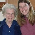 Visiting Nana at her new place in South Carolina (shortly after her move from Penna).