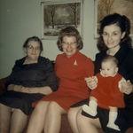 Grammie, Nana, Joanne and Joy