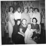 Donna, sisters and friends  date unknown