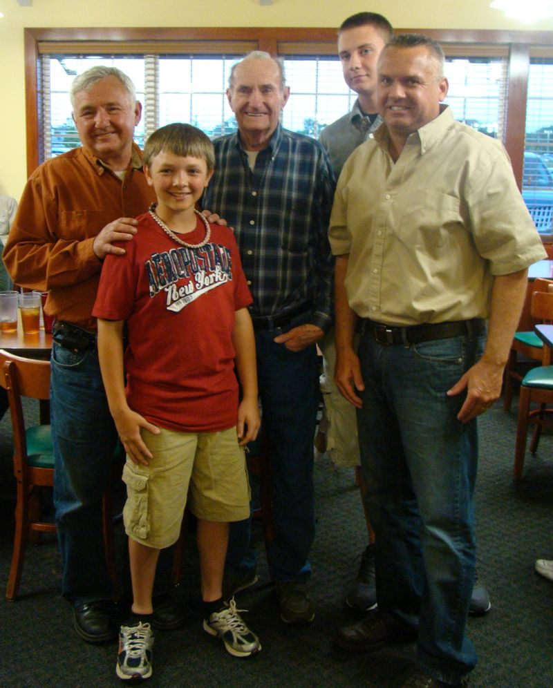 Don Chapman, Ben Chapman, Ray Chapman, John Chapman &amp; Luke D&#39;Elia
