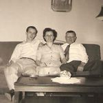 Chuck with his mom and dad, Helen and John Gazdik