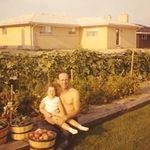Chuck and Tanya, circa 1972.