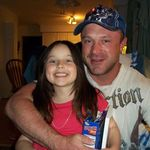 Matt and his step-daughter, Gloriel