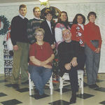 Our last family photo at The Vermilyea House - Christmas 2000