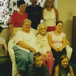 With Great Grandma Shappy and Great Great Grandma Jones in Vermont in 2001