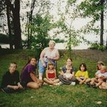 Great Grandma Shappy's Family Reunion in Vermont - summer of 2001