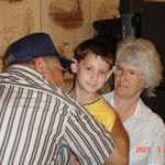 Grumpy, Jayden and Granny