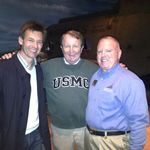 Andrei Belyi, Wayne and Bill Peters at the Marine Corps Museum, Quantico VA 2012
