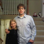 Meghan and Thomas at Wayne's Christmas 2010