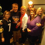 Davine, Wayne, Irina, Misha, Trish and Kim, Super Bowl 2011