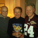 Misha, Wayne and Chris, Super Bowl 2011
