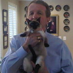 Dad and Anastasia at home 2010