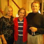Kim, Davine and Wayne at home 2010
