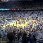 UNC vs Clemson at the Dean Dome 2012