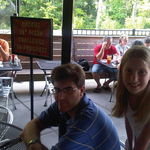 The grandkids, Thomas and Meghan at Ruckus, Cary NC, 2011