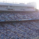 4th quarter and Carolina is almost there, Keenan Stadium, 2011